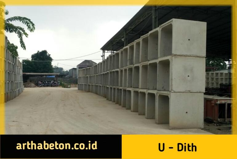 harga u-dith beton precast