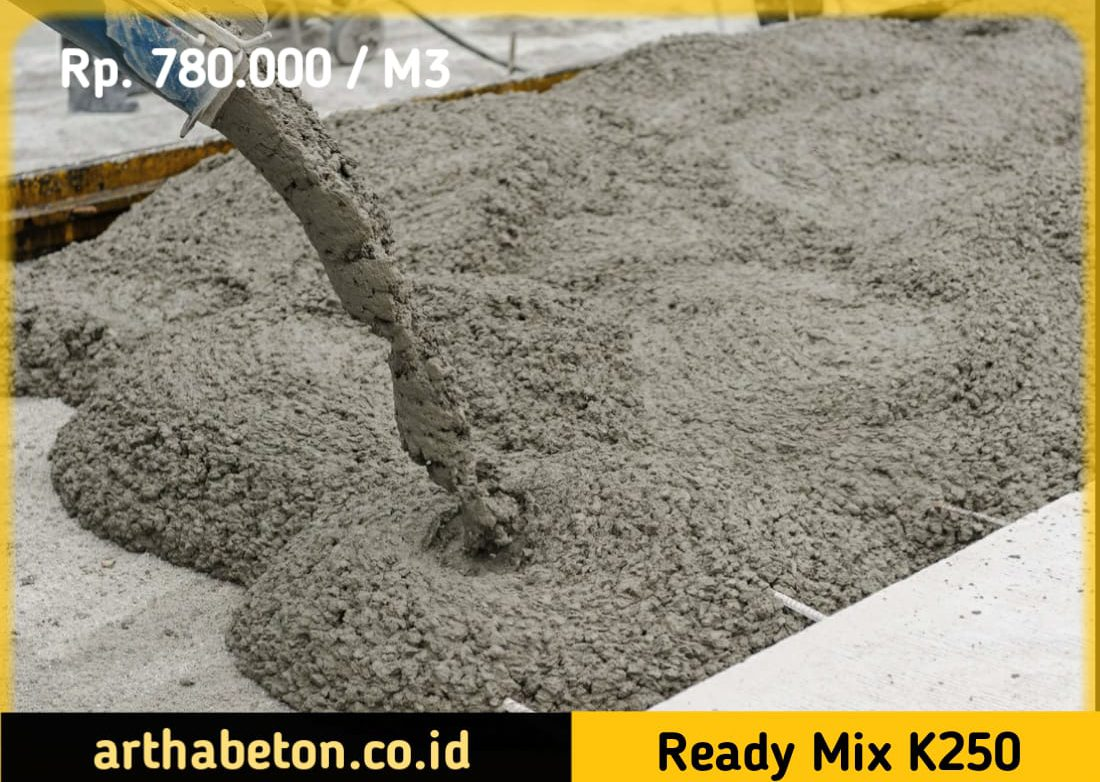 beton ready mix k250
