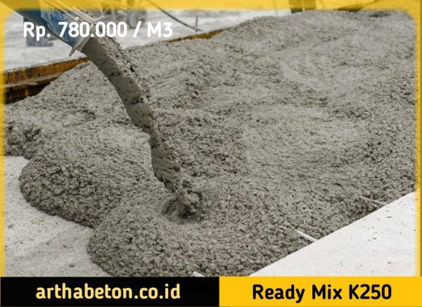 beton ready mix k250