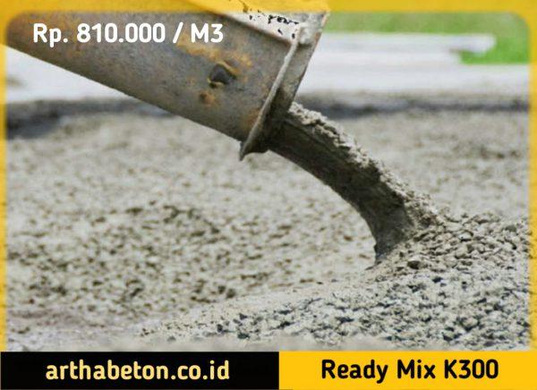 beton ready mix k300