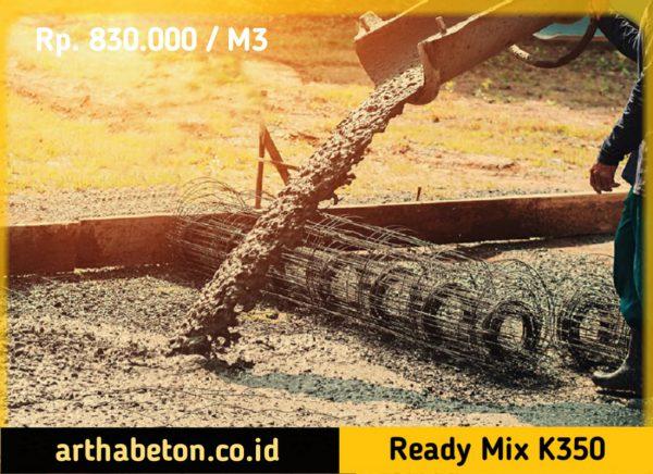 beton ready mix k350