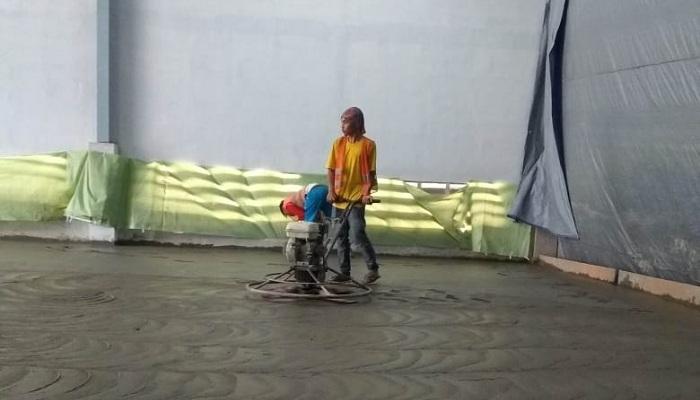 jasa finishing trowel lantai