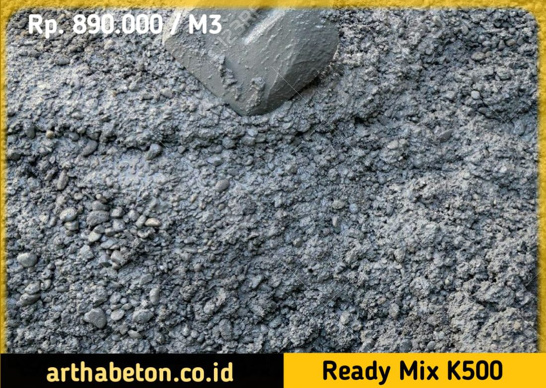beton readymix k500